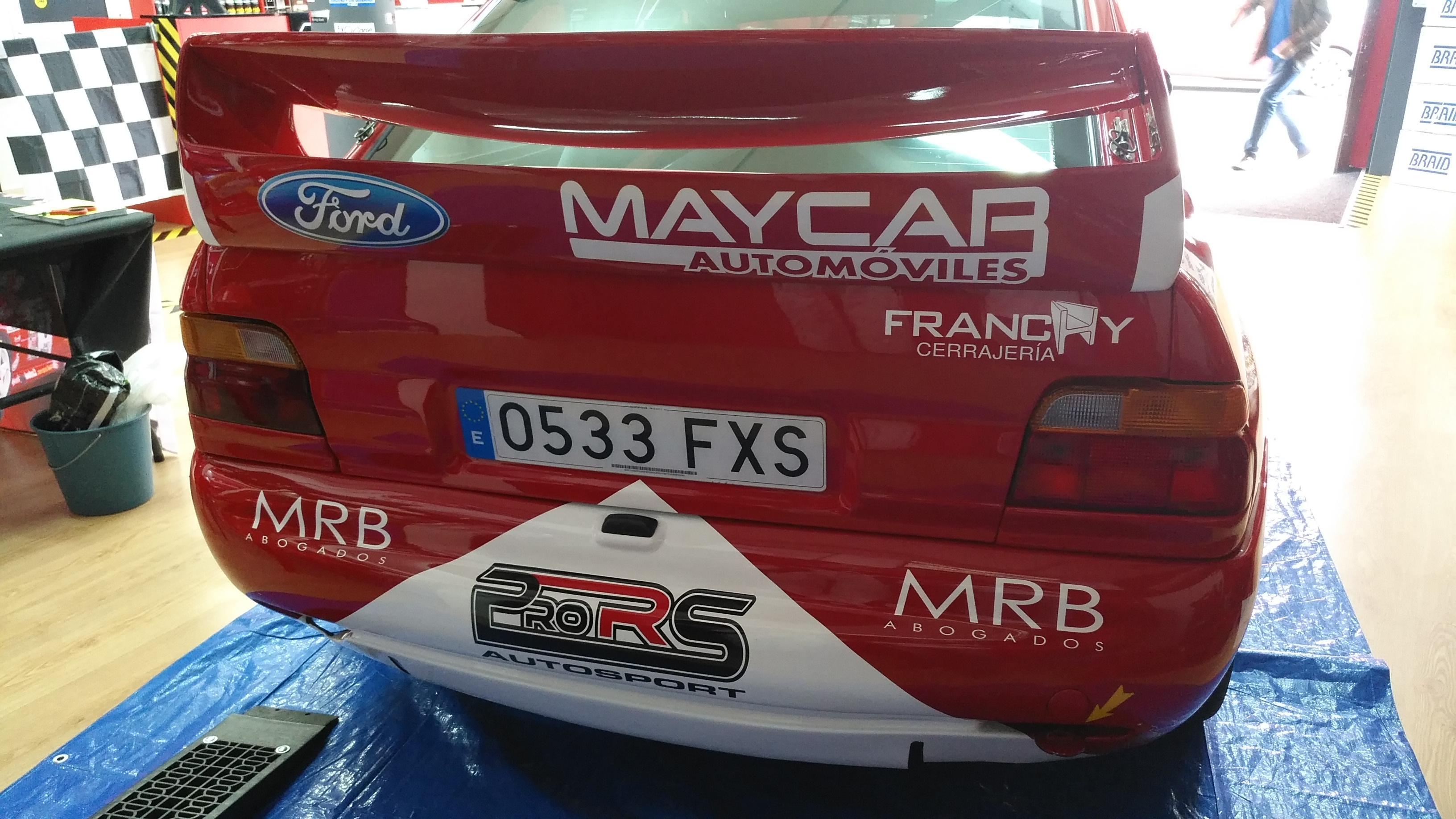 Ford Escort WRC - Airan Mejías
