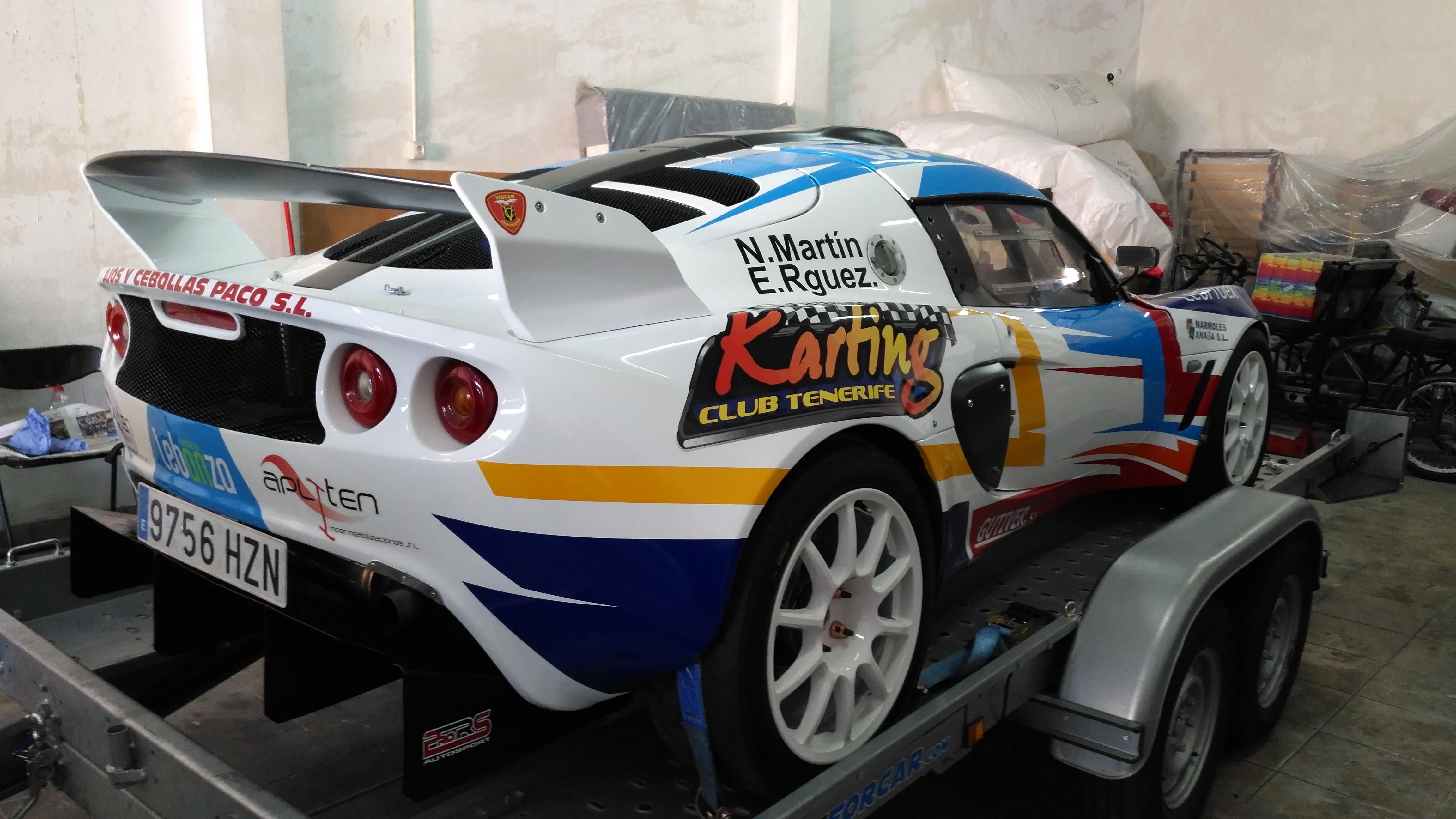 Lotus Esige GT - Neftali Martín / Estefanía Rodríguez