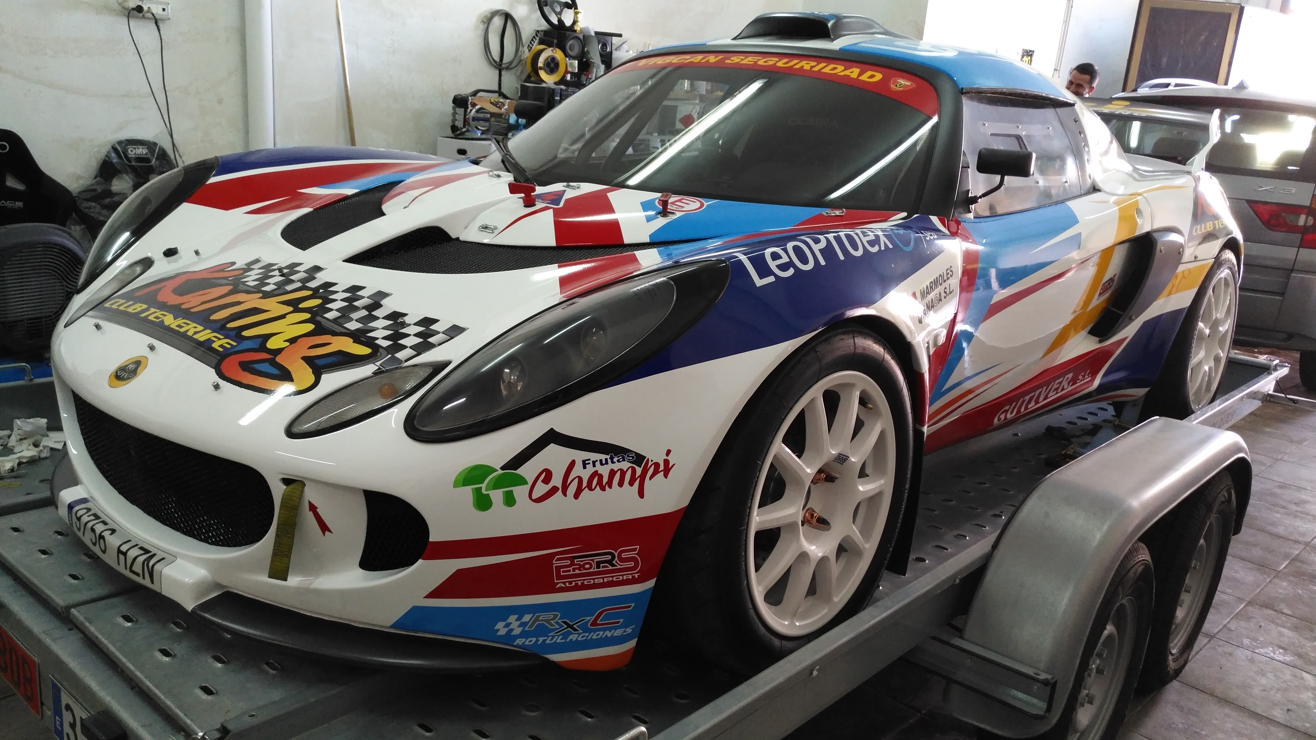Asientos Tillet B6 - Lotus Exige GT - Neftalí Martín