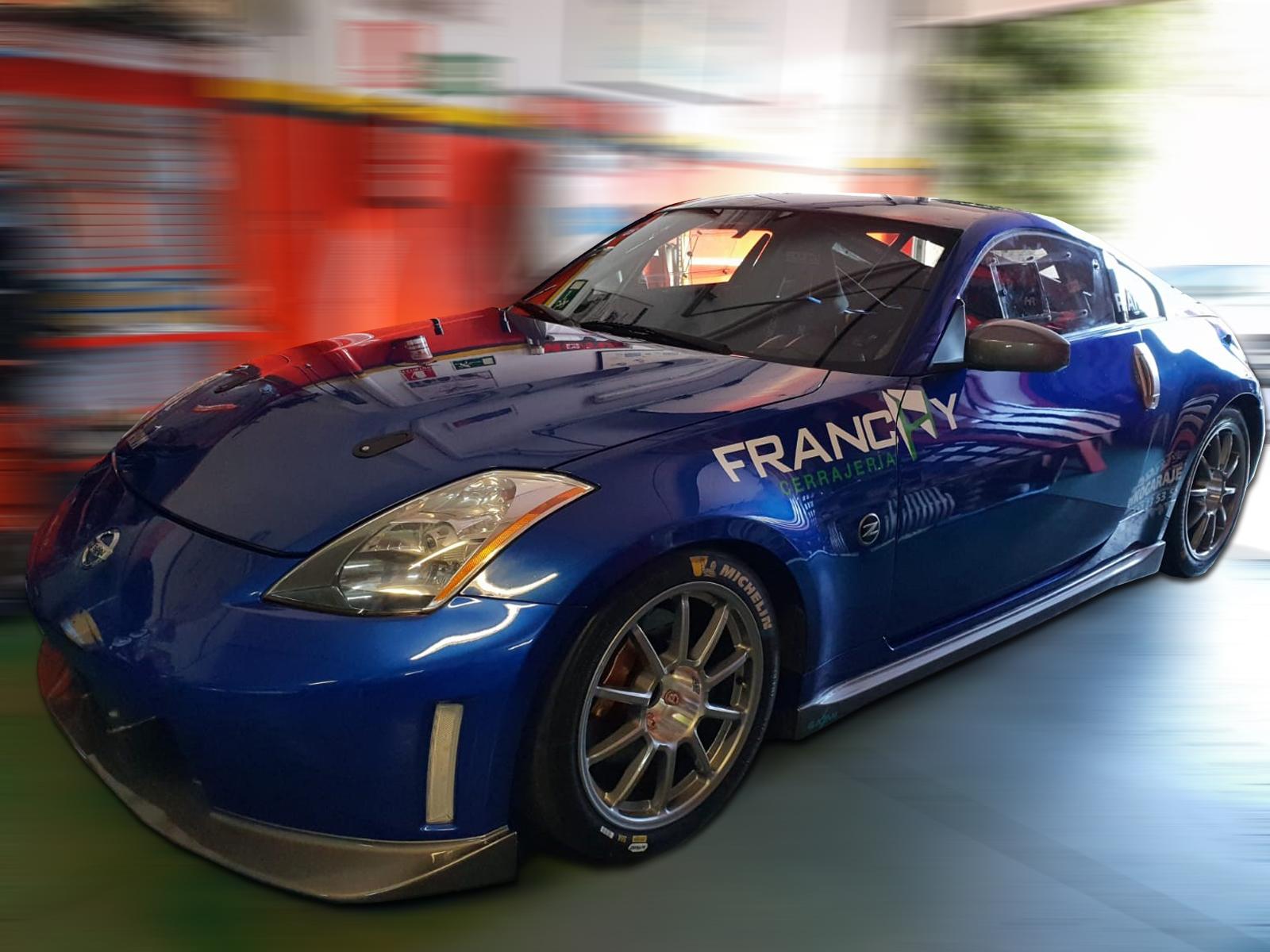 Llantas Braid Fullrace A Flowforming 9x18 - Nissan 350Z - Perseo Arbelo