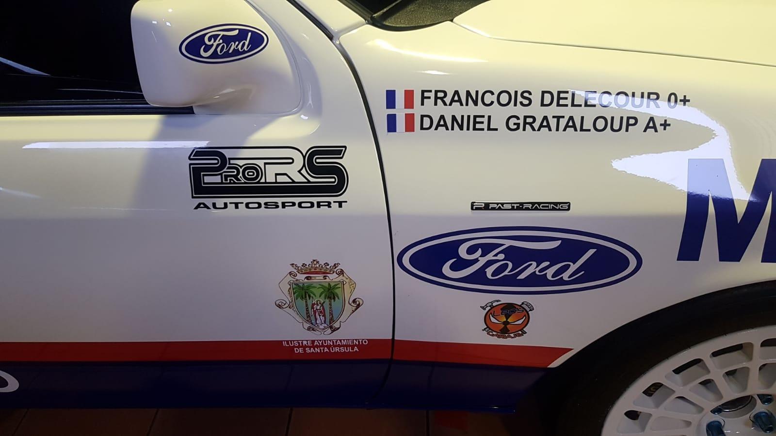 Ford Sierra Cosworth - Carlos Brito