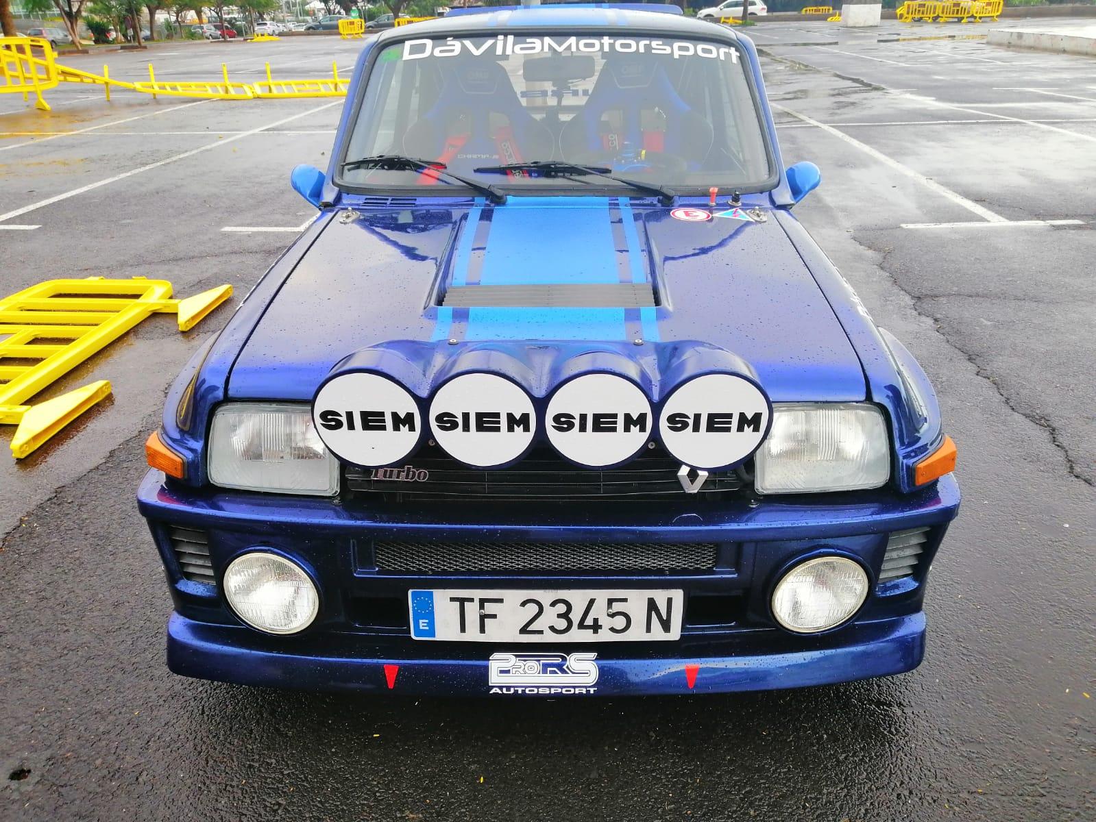 Asientos OMP Champ-R personalizados - Renault 5 Maxi Turbo - Melchor Dávila