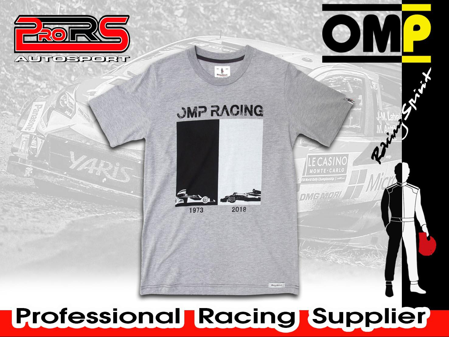 Camiseta modelo OMP RACING