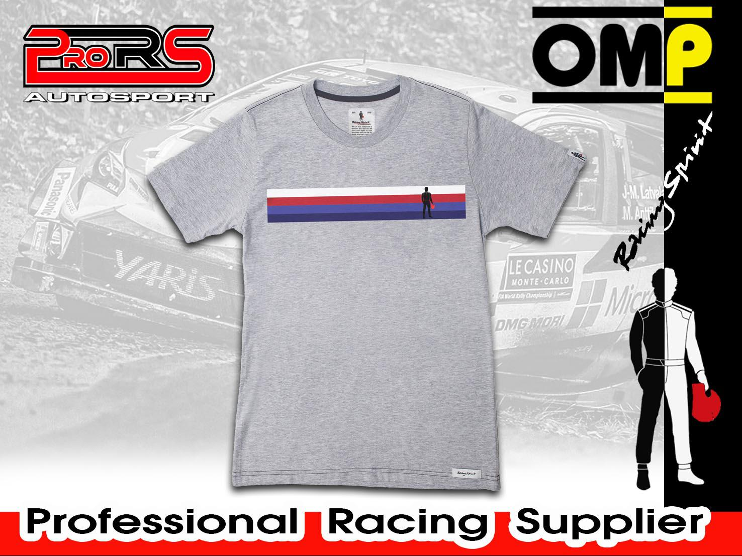 Camiseta modelo RACING SPIRIT STRIPE