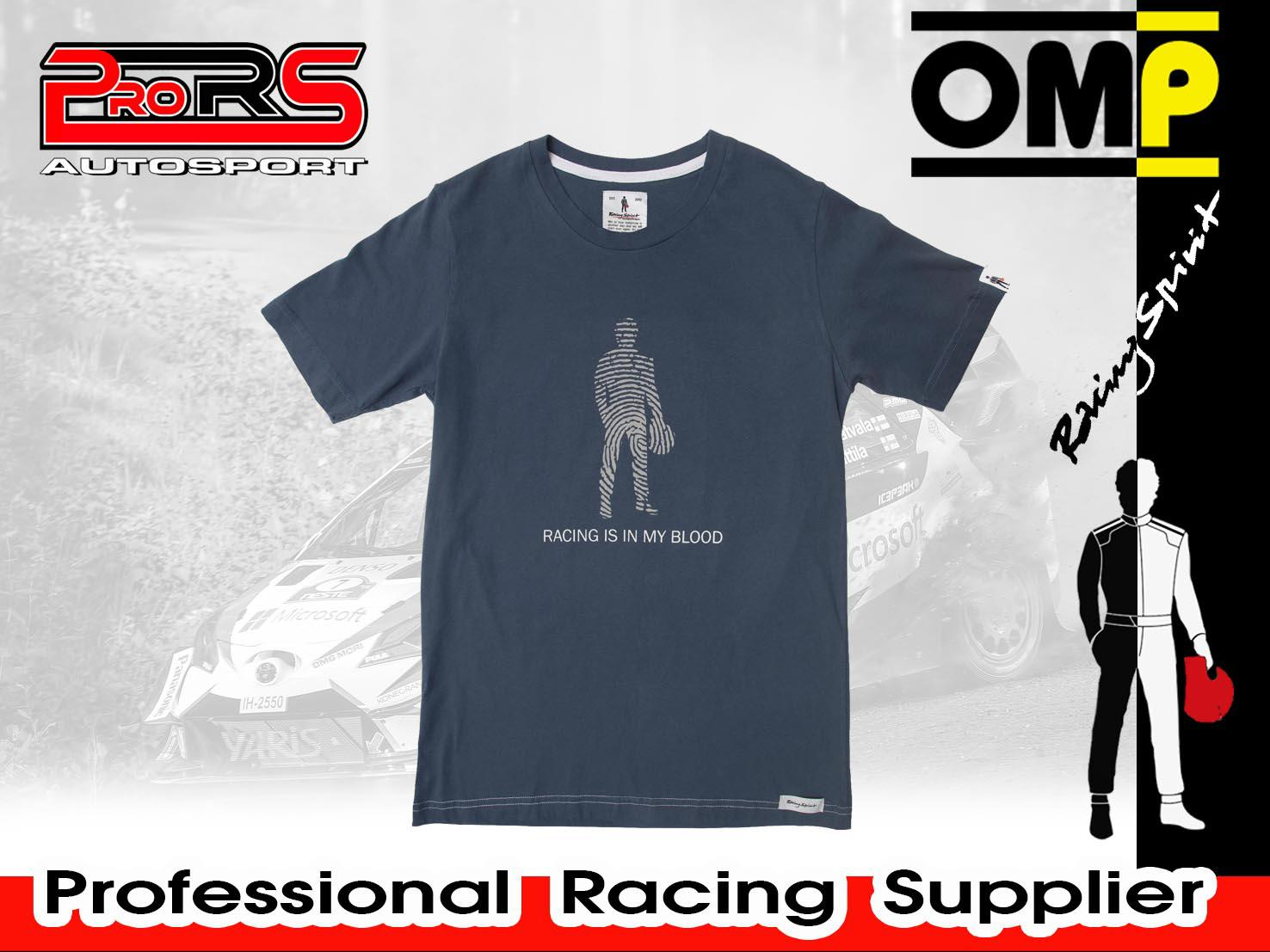 Camiseta modelo RACING IS IN MY BLOOD