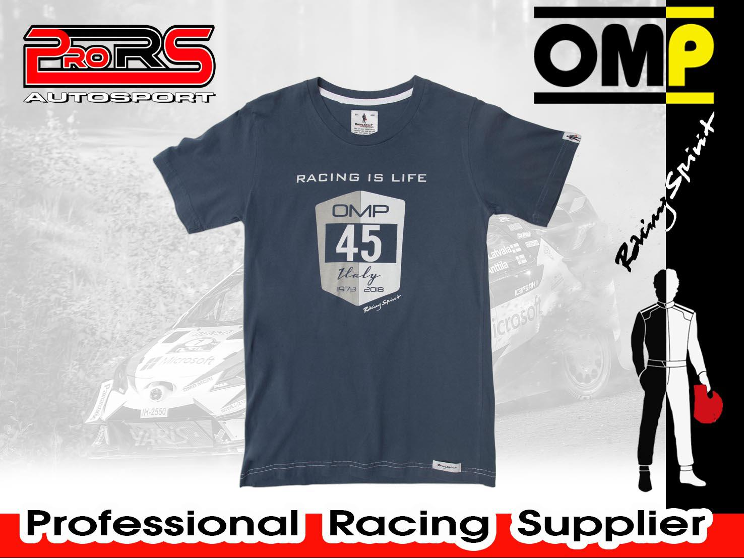 Camiseta modelo RACING IS LIFE